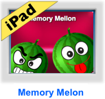 addition games- memory melon